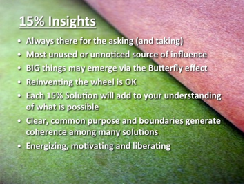 Özgürleştiren Yapılar - %15 Çözümler
