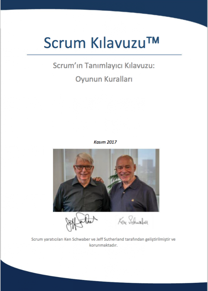 Scrum Kılavuzu Türkçe