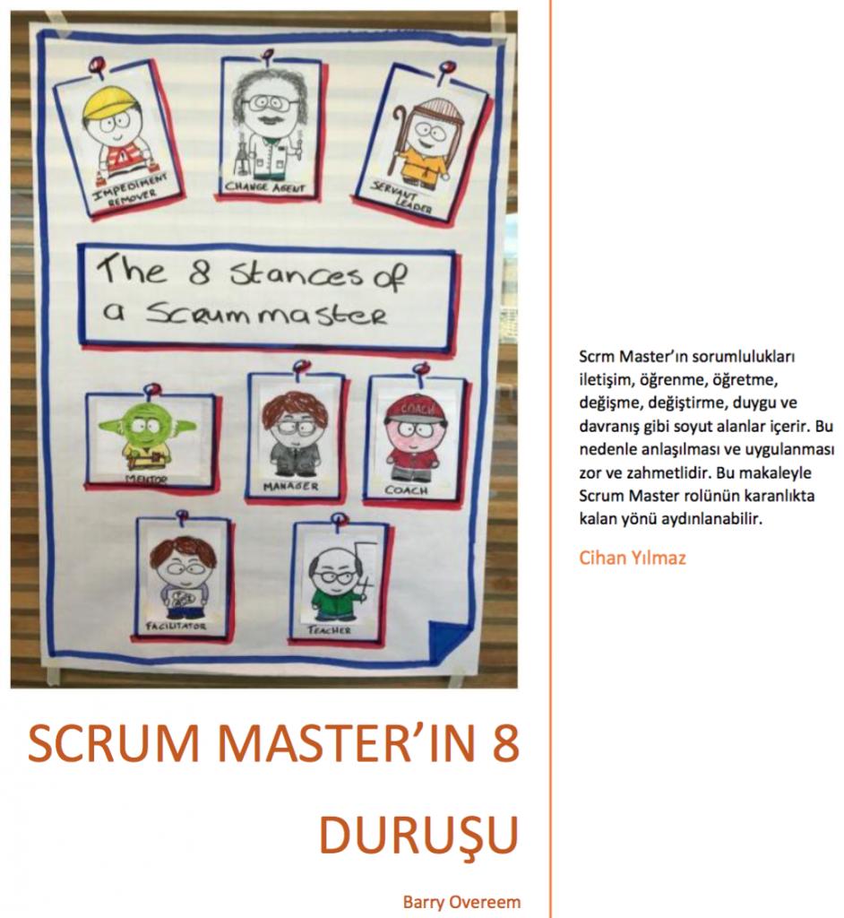 Scrum Master'ın 8 Duruşu